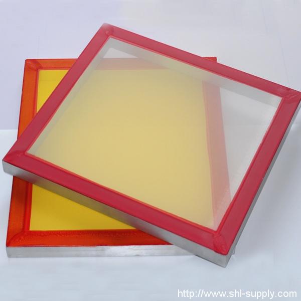 25″x36″  355 mesh count screen printing mesh yellow 5-pack